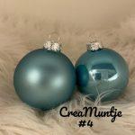 Kerstbal Blauw