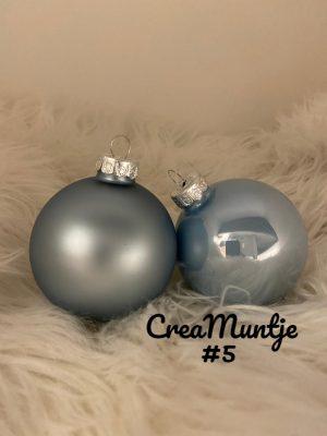 Kerstbal Lichtblauw