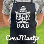 Schort Nacho Average Dad