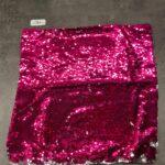Kussensloop Pailletten Roze/Zilver